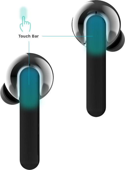 Ovládejte zvuk jednoduchým poklepáním
