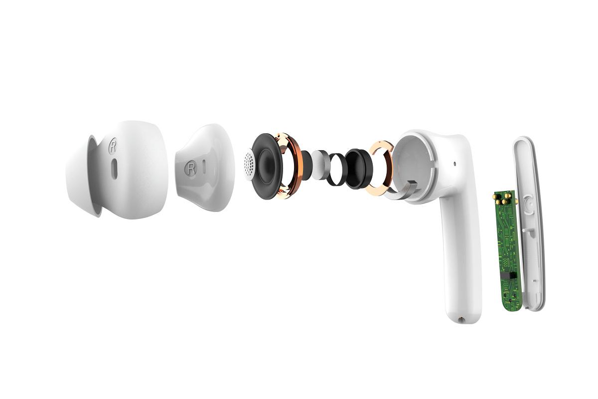 Bohatý Hi-Fi zvuk s 13mm reproduktorem